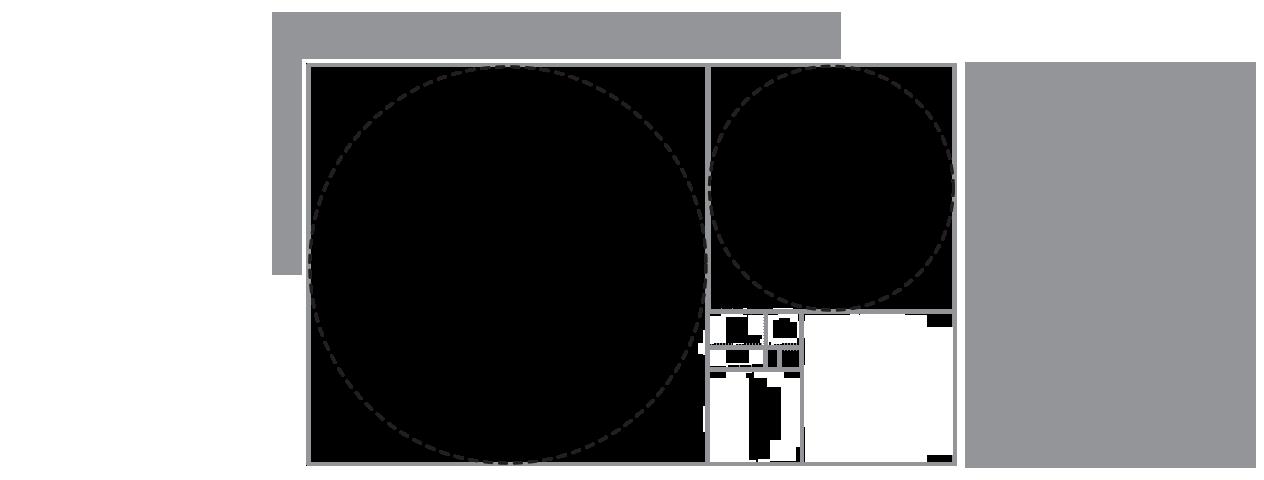 fibonacci cercles